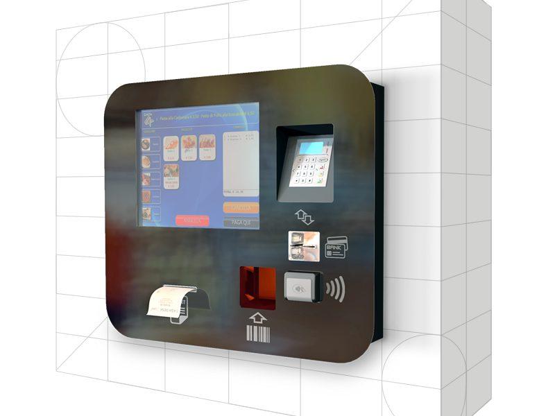 Cash Desk K2 Wall